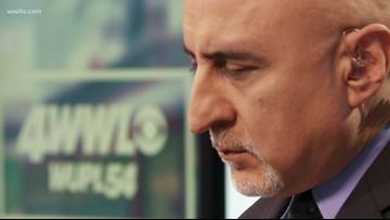 Carl Arredondo's last show on WWL-TV
