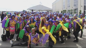 A Carnival parade for New Orleans East in 2020