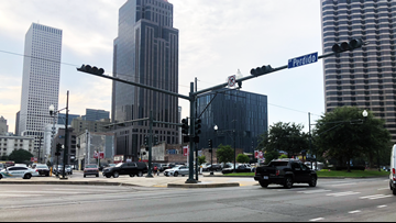 New Orleans CBD power outage snarls traffic, water shut-offs canceled