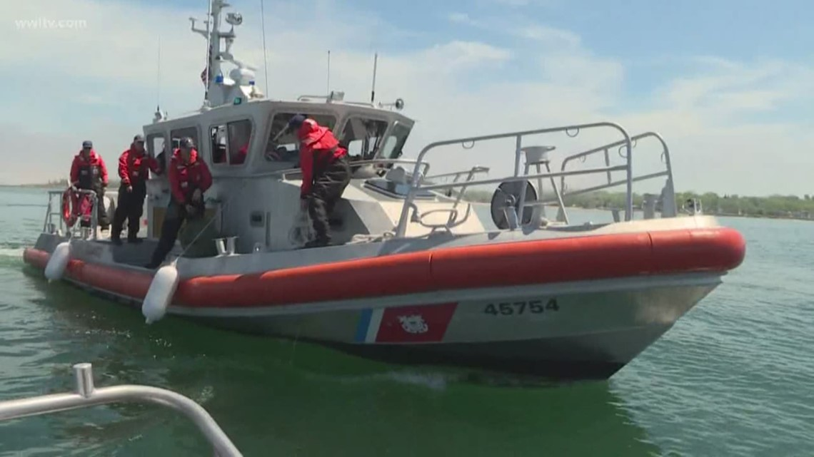 Two boats collide in Plaquemines Parish waterway, Coast Guard says