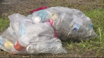 Volunteers from UGA join 'NOLA Trash Mob' to clean up New Orleans
