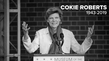 Cokie Roberts, New Orleans-born political journalist, dies at 75