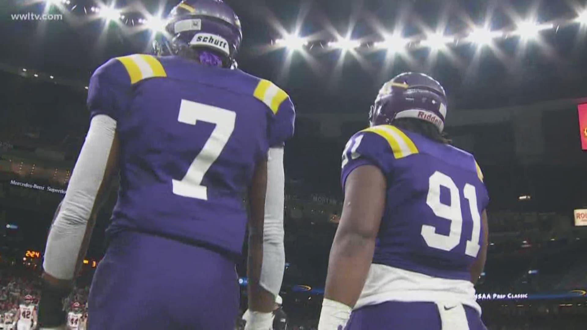 Lsu Football Aims To Complete The Amite Sweep Wwltv Com