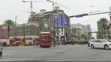 Search continues for 1 trapped in Hard Rock Hotel collapse; Uptown boil water advisory expected through Sunday evening & more stories