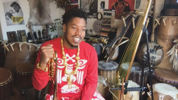 9th Ward musician nominated for several Grammy awards
