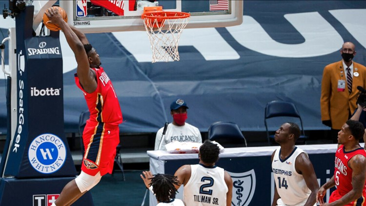 Pelicans top Grizzlies to win 3rd straight