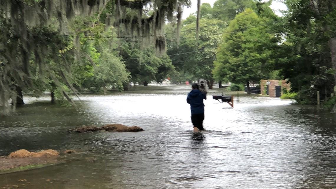 Photos: Flooding, damage as Hurricane Barry makes landfall