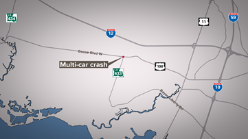 Lacombe woman killed in multi-car crash on US 190 in Slidell