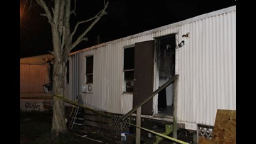 12-year-old dies, three injured in Lake Charles trailer fire