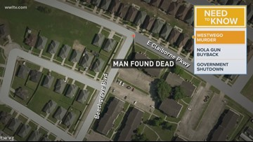 Man found shot to death in Westwego, JPSO says