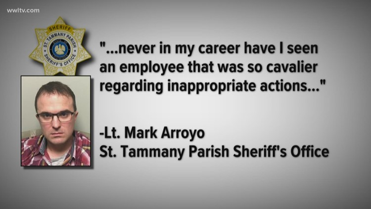 Arrested deputy with strong family ties to STPSO previously resigned under investigation, was rehired
