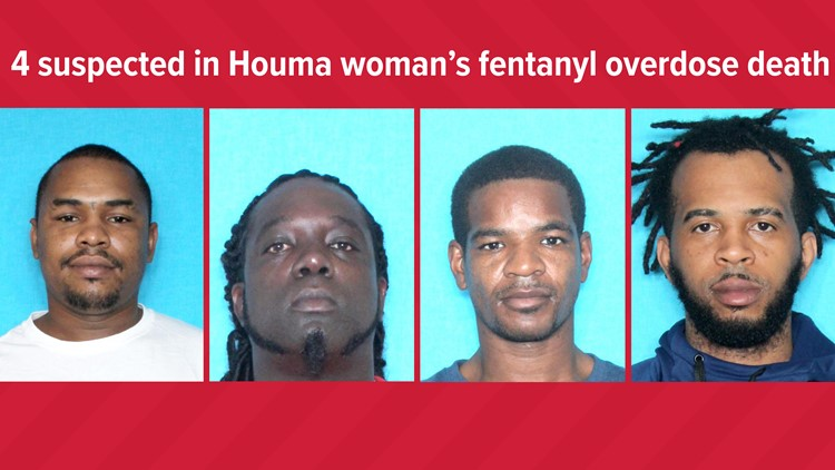 She died of a fentanyl overdose. Police says these 4 drove for an hour asking for Narcan before calling 911
