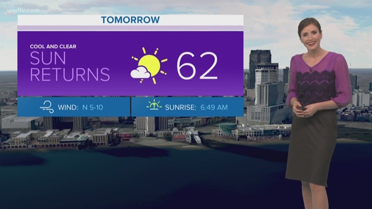 Pinpoint Forecast: Sun returns on Sunday