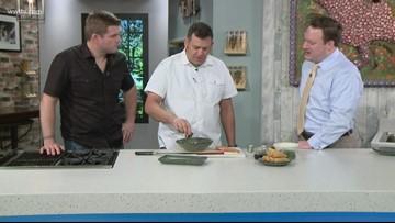 In the Kitchen: Cavan's Salmon Poke Tacos