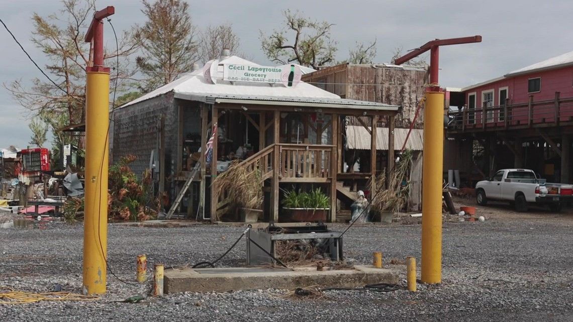 'Never going to be like it was' | Hurricane Ida decimates 107-year-old  Chauvin grocery