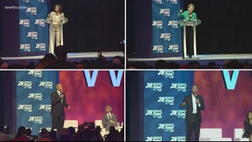 See Essence Festival speeches from Democratic presidential candidates