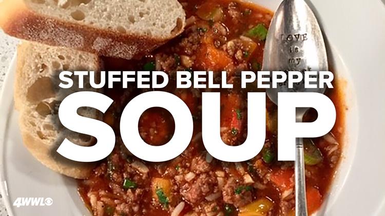 Recipe: Stuffed Bell Pepper Soup
