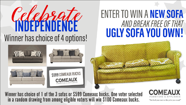Contest Have An Ugly Sofa Snap A Picture And Win Big Wwltv Com