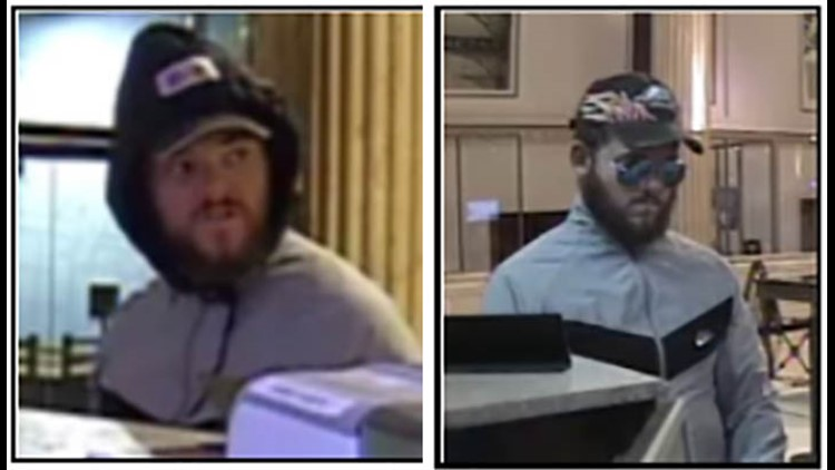 Capital One Bank Robbery Suspect