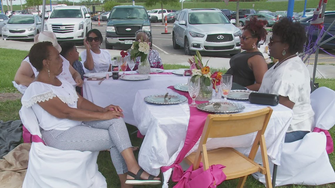 Families spend Mother's Day together