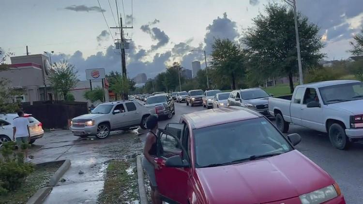 St. Bernard Parish Update: biggest problem is gas shortages