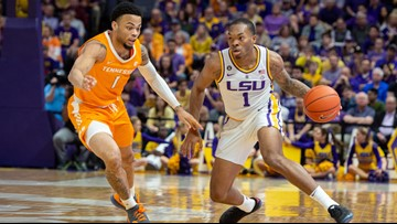 LSU gets No. 3 seed for March Madness, will play Yale Thursday