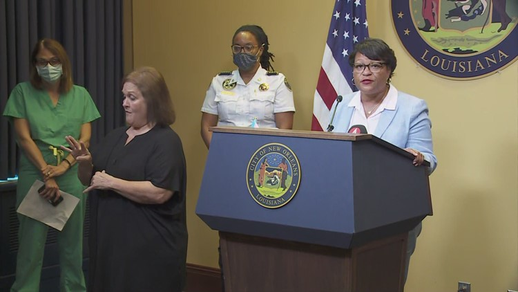 Live @ 4:45PM: Mayor Cantrell gives update on New Orleans' COVID-19 response