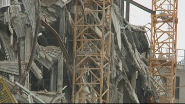 Engineers who responded to 9/11 helping with New Orleans hotel collapse
