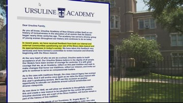 Ursuline Academy to remove Sioux as a class mascot after this year