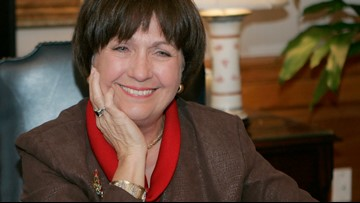 Large crowd pays respect to former governor Kathleen Blanco