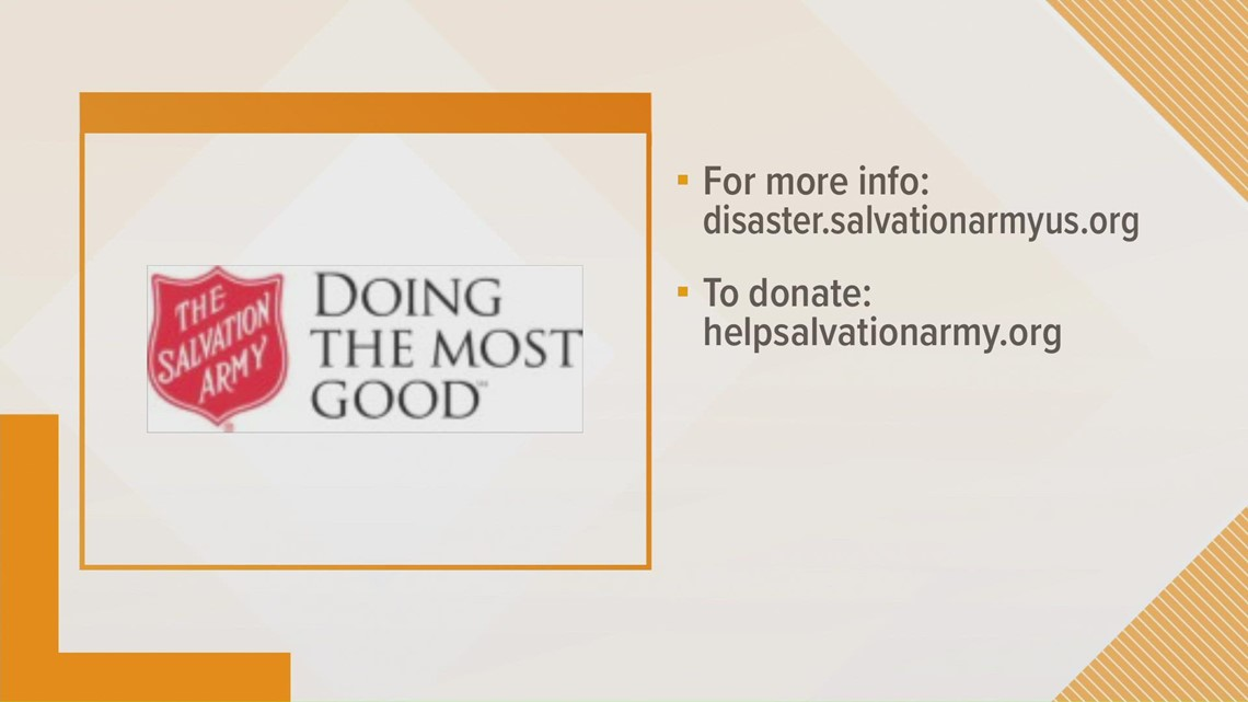 Salvation Army aids in Ida relief