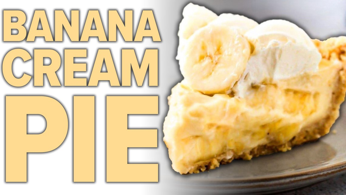 Recipe: Chef Kevin Belton's Banana Cream Pie