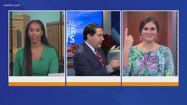 One more spin: Sheba Turk & Leslie Spoon on Dave's last day at WWLTV