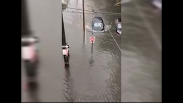 LSU student rescues woman from flooded car