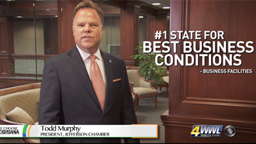 #1 State for Best Business Conditions