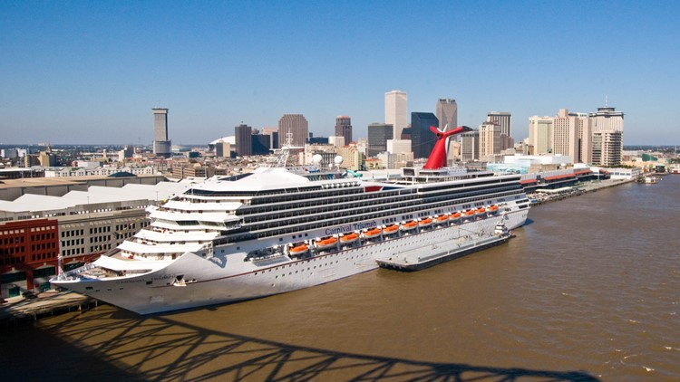 Cruises From New Orleans >> New Orleans Sets Cruise Passenger Record Wwltv Com