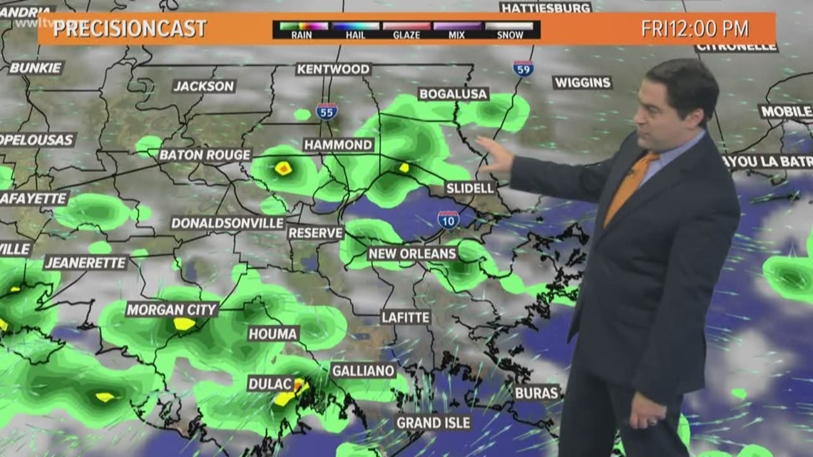 Gas Prices In Louisiana >> Pinpoint Forecast: Heavy rain and storms today   wwltv.com