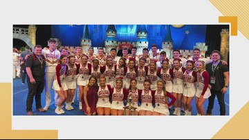 You're All Dat: Brother Martin Cheer Team