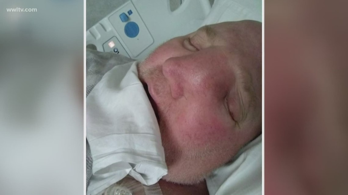 From sinus infection to a month to live, Slidell man fights rare cancer