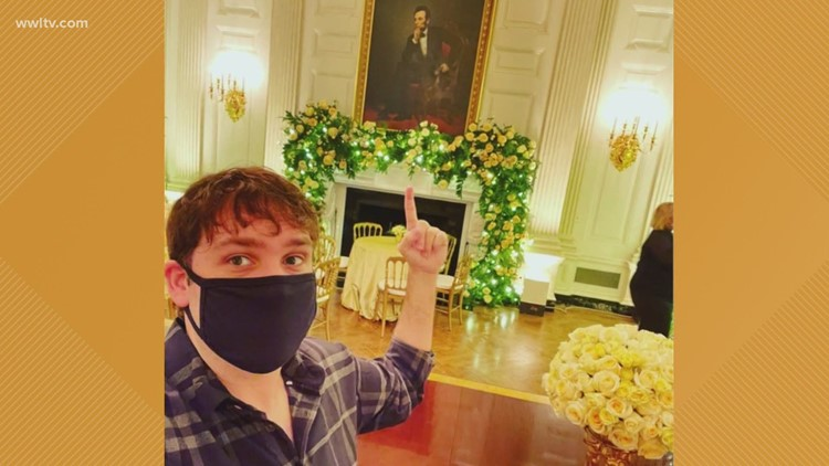 Louisiana man among those who decorated White House for Christmas this year