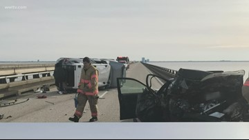 Southbound Causeway opened after fatal crash