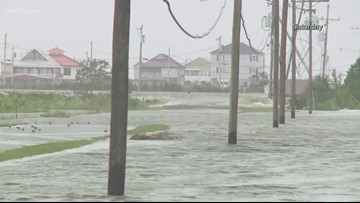 Plaquemines Parish urging federal gov't for levee project after Barry flooding