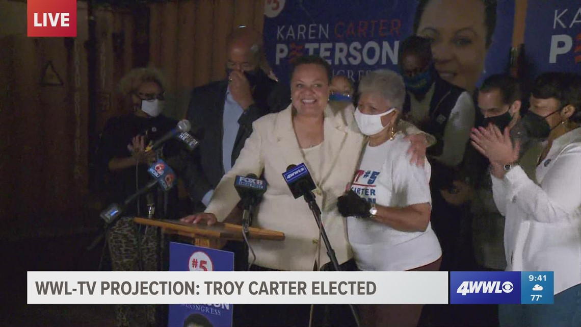Campaign 2021 election results | Karen Carter Peterson concedes after Troy Carter's victory
