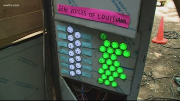 Music box exhibit 'Elevator Pitch' brings sounds to Deaf