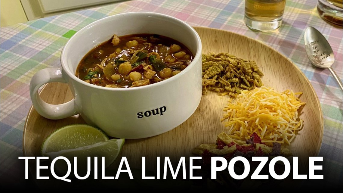 Recipe: Chef Kevin Belton's Tequila Lime Pozole