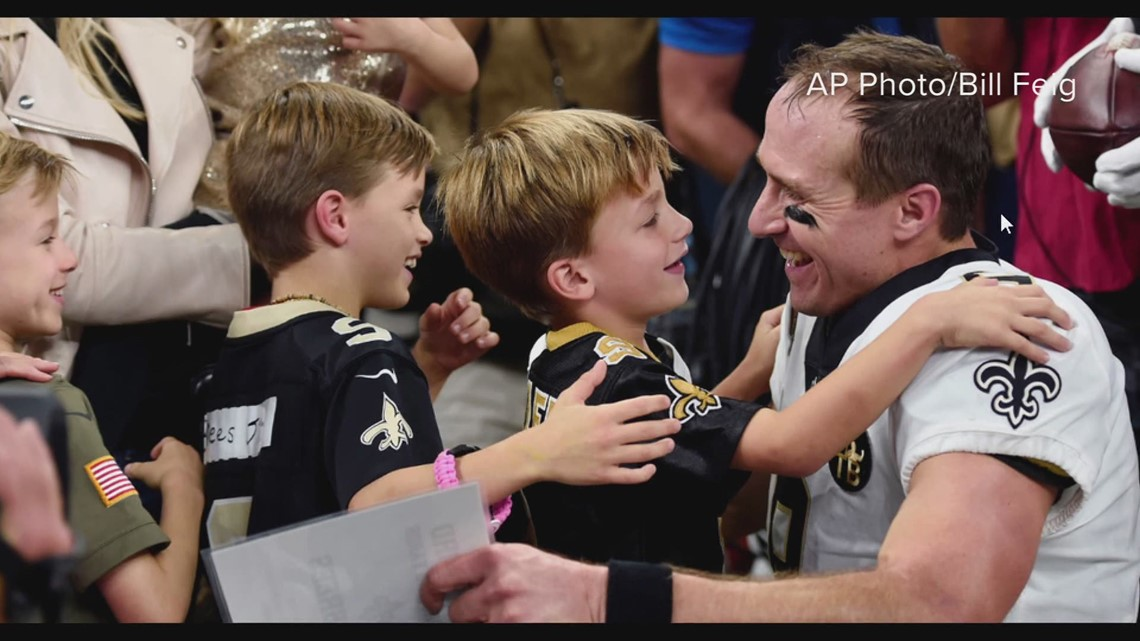 New Orleanians thank Drew Brees for bringing hope back to the city