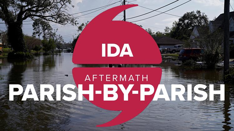Hurricane Ida: Parish-By-Parish Updates, Resources