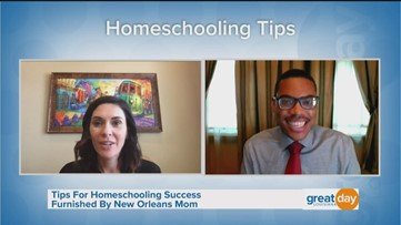 Homeschooling Tips from New Orleans Mom