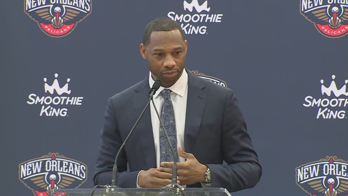 Pelicans new head coach Willie Green introduced
