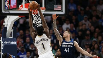 Holiday has 37 points, helps Pelicans top Timberwolves 120-107